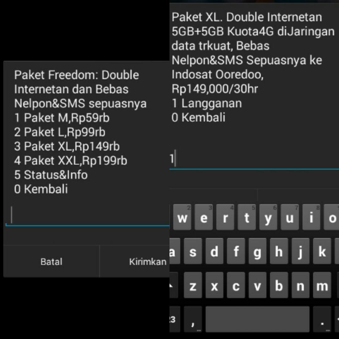 Semakin Happy Dengan Paket Freedom Combo Dari Indosat Ooredoo Kuota L Karena Kebutuhan Saya Banyak Jadi Beli Xl Harga 149000 30hr