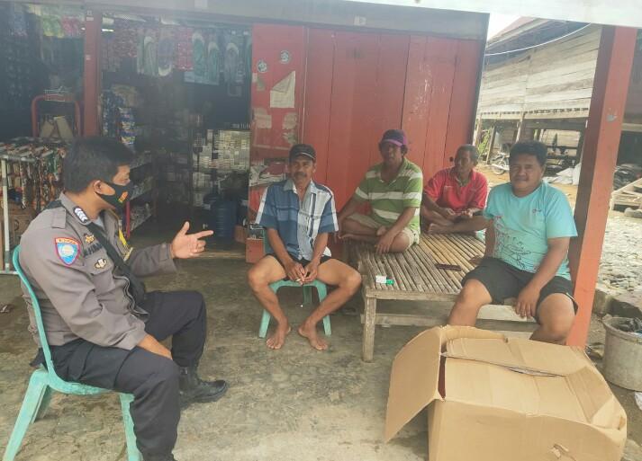 Kapolsek Tellu Limpoe, Sosialisasi Penerapan Protokol kesehatan