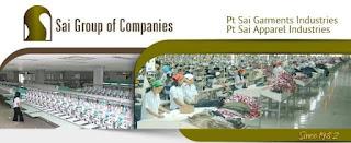 Lowongan Kerja PT. SAI Garment Industries Tegal