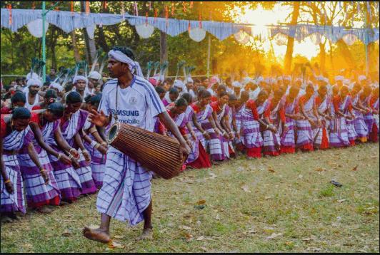 Santali Rinjha dance