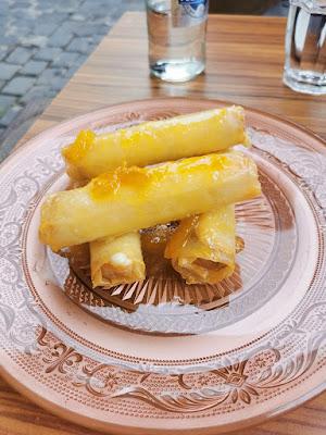 Queso frito canario con mermelada