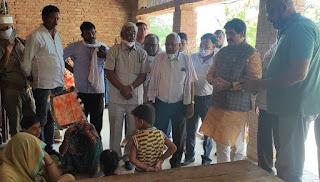 समाजसेवी ज्ञान प्रकाश सिंह ने दी एक लाख की सहयोग राशि    #NayaSaberaNetwork
