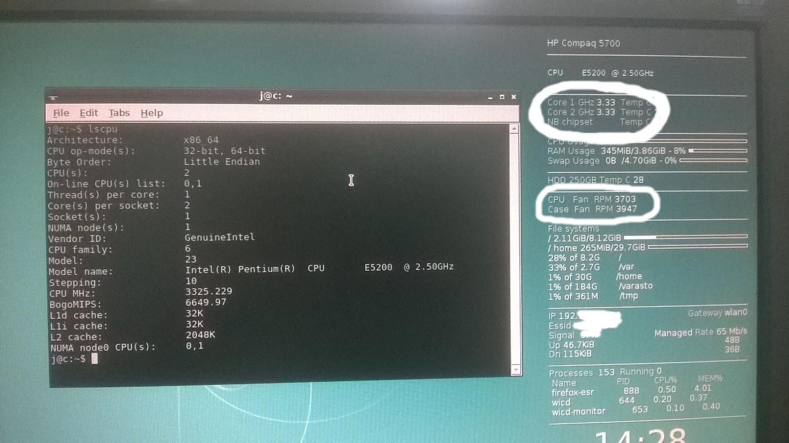 Intel E5200 Pin Mod - HP dc5700 MT | Uponneena linuxiin