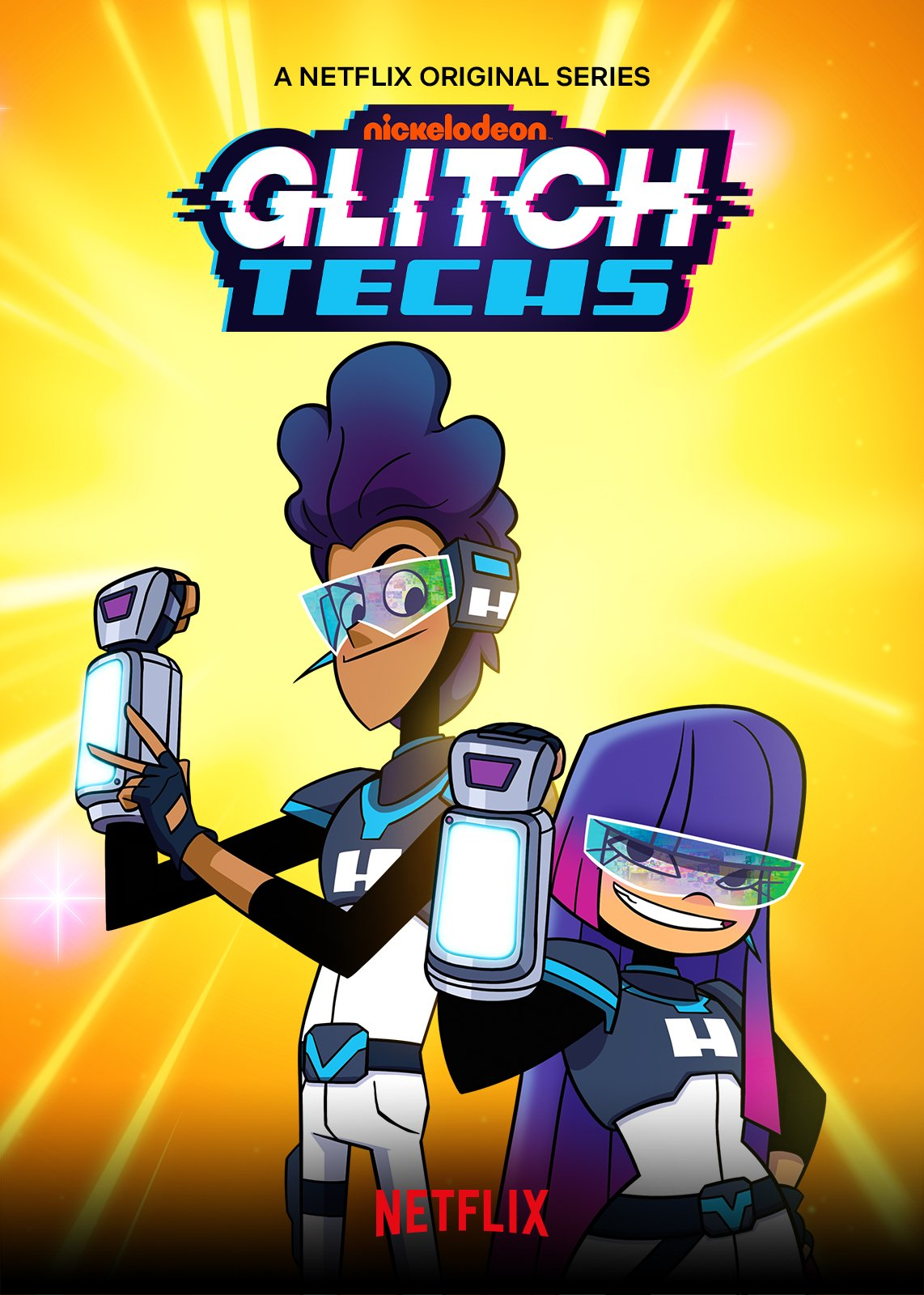 Glitch Techs Theme Song : glitch, techs, theme, NickALive!:, Netflix, Premiere, 'Glitch, Techs', Friday,, February