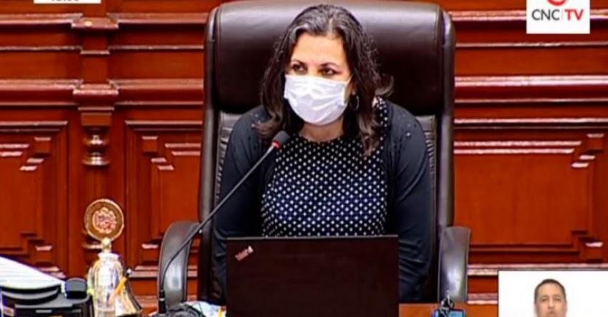 UNA VEZ MÁS EL PARTIDO APP DE ACUÑA MIENTE AL PAÍS: Lista encabezada por Rocío Silva no alcanzó los votos para la Mesa Directiva