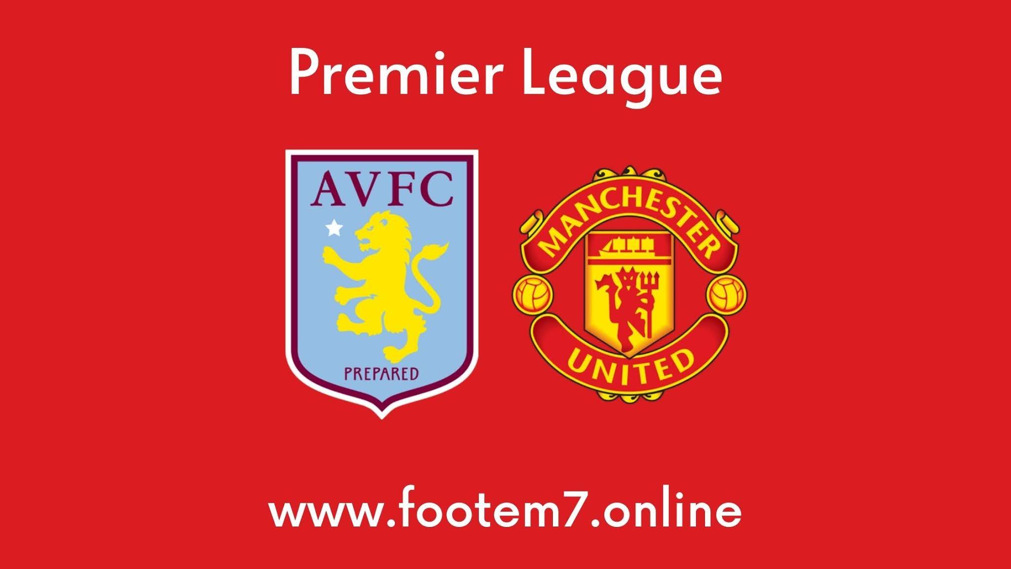 Man United vs Aston Villa Round 35