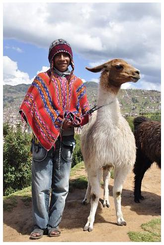 Пончо - традиционная одежда народов Латинской Америки.