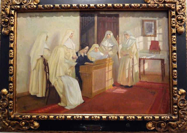 エフライム・マルティネスの『修道女の絵』