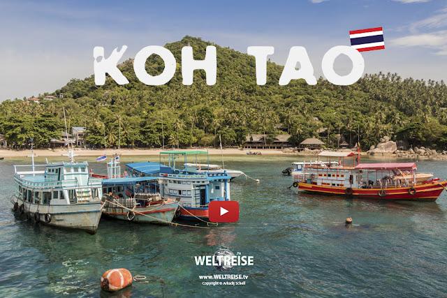 Fähre von Koh Phangan nach Koh Tao | Thailand | www.WELTREISE.tv #199