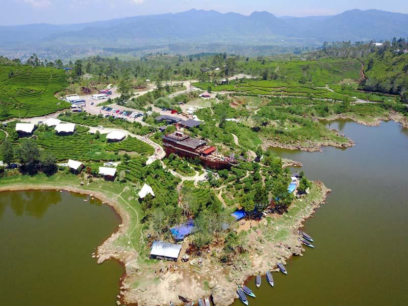 Fasilitas Wisata Danau Patenggang Ciwidey