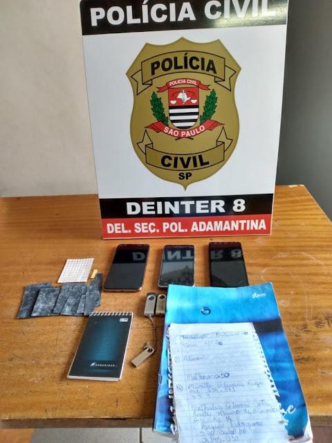 Operação 'caixa postal' prende acusada por enviar droga sintética ao sistema prisional