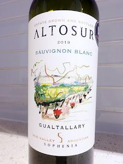 Altosur Sauvignon Blanc 2019 (89 pts)