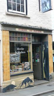 Murder and Mayhem bookshop Hay