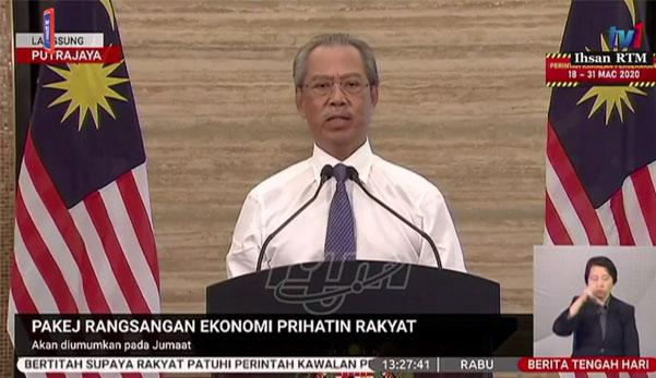 Tempoh Perintah Kawalan Pergerakan (PKP) dilanjutkan sehingga 14 April 2020 - PM