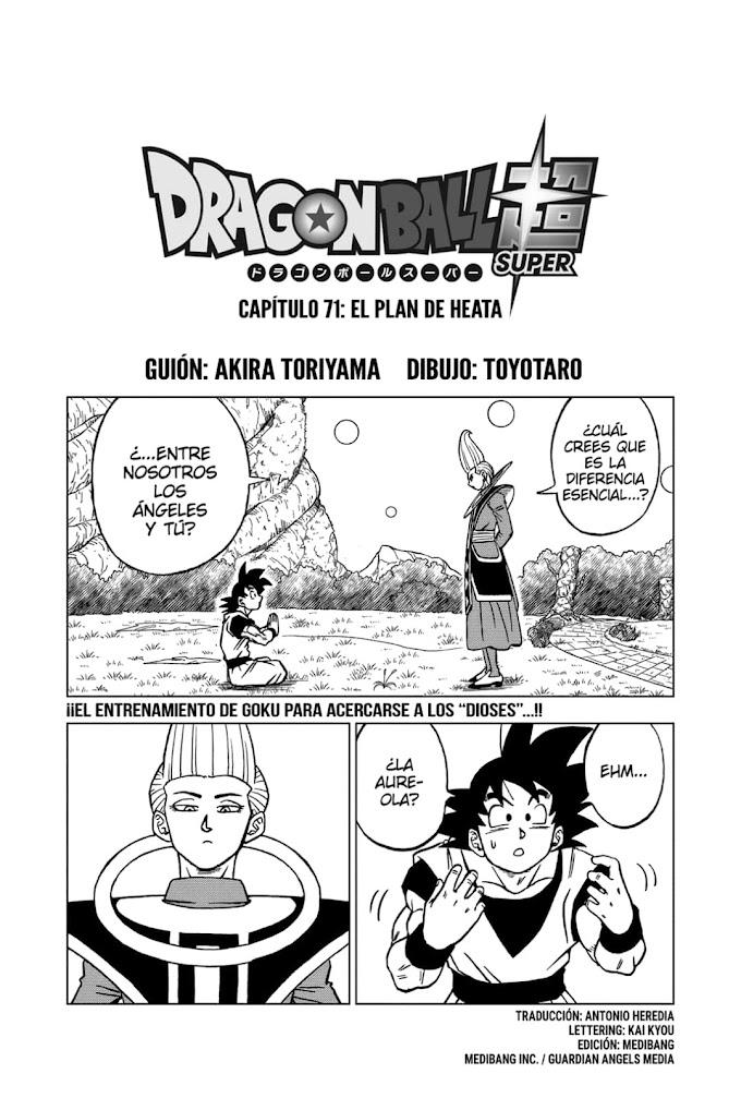 Dragon Ball Super Manga 71 Español