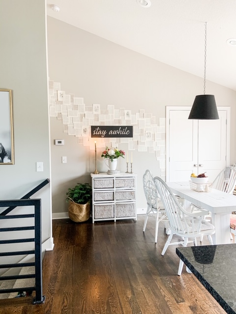 mismatched eclectic dining room decor