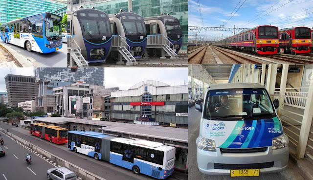 Minimisir Penyebaran Corona, Mulai Senin DKI Jakarta Batasi Penggunaan Transportasi Umum