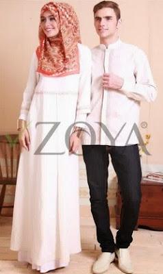 Model Baju Muslim Couple Zoya Edisi Terbaru