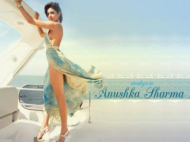 Anushka Sharma Hot Sexy Thigh Pictures