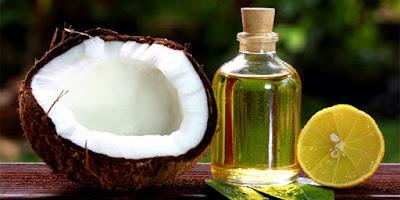 وصفة زيت الزيتون وزيت جوز الهند وعصير الليمون لتطويل وتنعيم الشعر