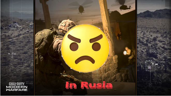 Gamer Rusia Membenci Game Call Of Duty Modern Warfare