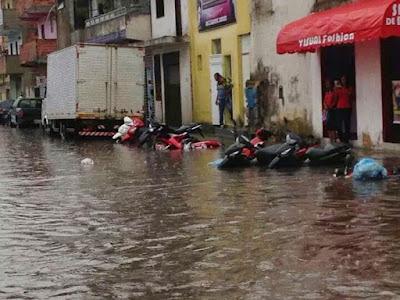 INEMA emite alerta de fortes chuvas, trovoadas e rajadas de vento em Alagoinhas e cidades da região; confira se seu município está na lista