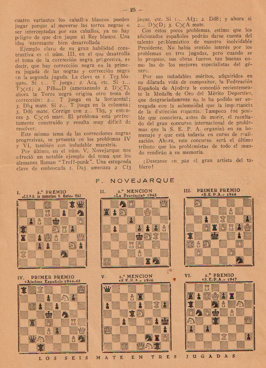 Revista Problemas, mayo/junio 1950, página 25