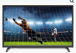 شاشة توشيبا 32 بوصة إل إي دي HD مزودة بمدخلين HDMI و مدخل فلاشة