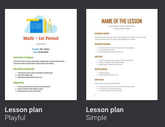 4 Great New Google Docs Templates for Teachers | Educational