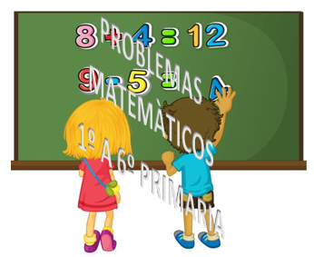 PROBLEMAS MATEMÀTICOS 1º A 6º PRIMARIA.