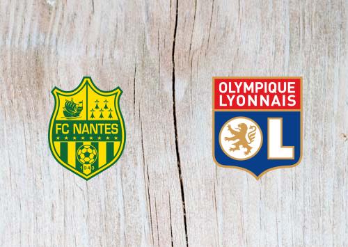 Nantes vs Lyon - Highlights 12 April 2019