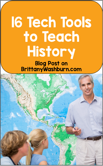 Many students find learning history to be boring, but it doesn't have to be!  Here are some tech tools that teachers and students alike can use to make learning history fun.