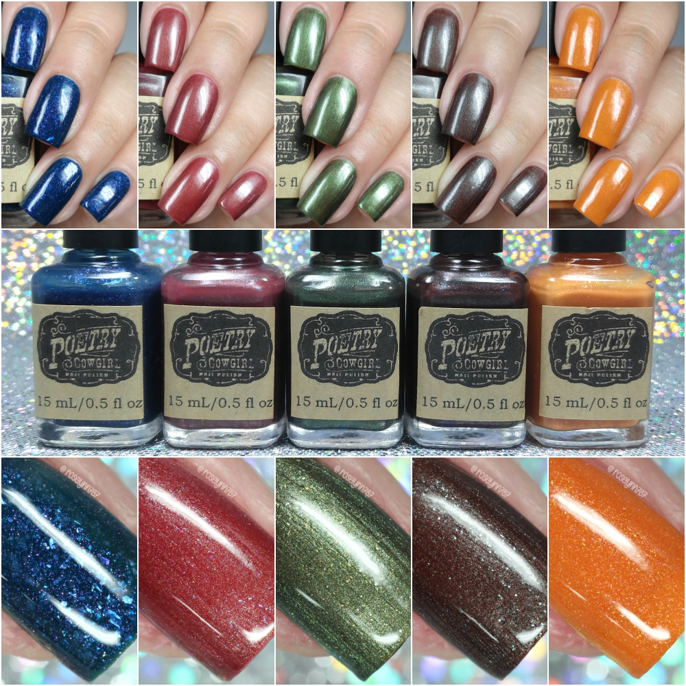 Poetry Cowgirl Nail Polish - Autumn Nights Fall 2016 Collection ...