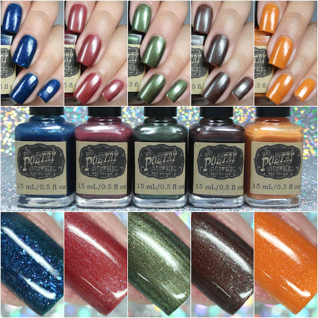 Poetry Cowgirl Nail Polish - Autumn Nights Fall 2016 Collection