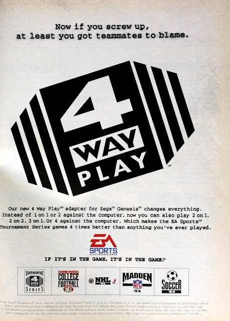 4 Way Play Adapter ad EA Sports
