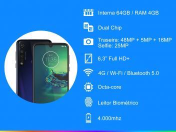 Motorola Moto G8 - Detalhes Técnicos e Fotos