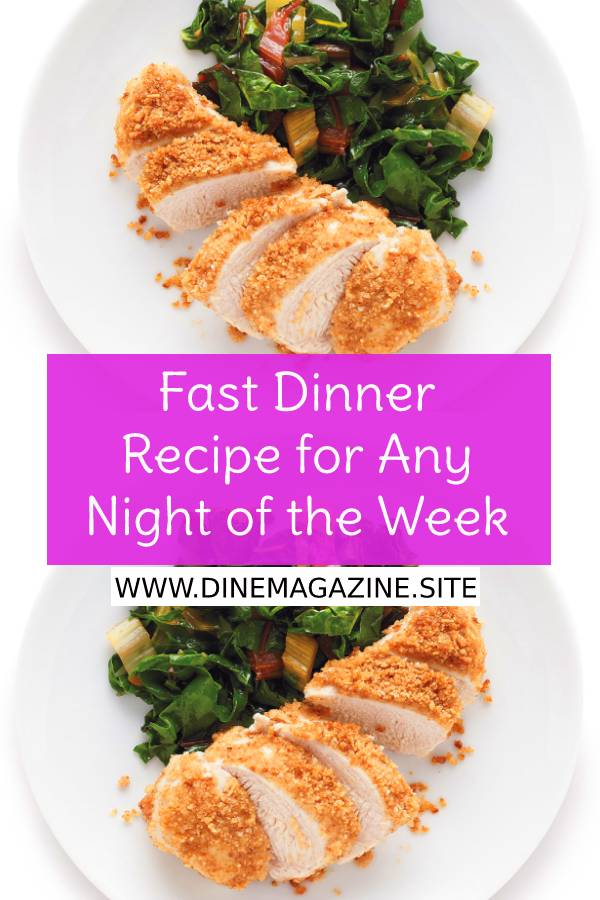 Fast Dinner Recipe for Any Night of the Week - Easy Chicken Recipe - Fast Chicken Dinner Recipe - Easy Dinner Recipe #easydinnerrecipe #fastdinnerrecipe #fastdinnerideas #dinnerrecipe #maindish #maincourse #easychickenrecipe #chickenrecipe #dish