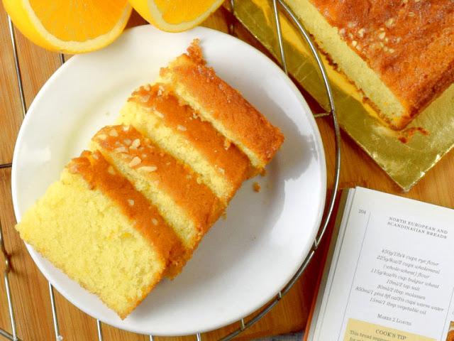 أفضل الوصفات لعمل كيكة البرتقال بالمنزل