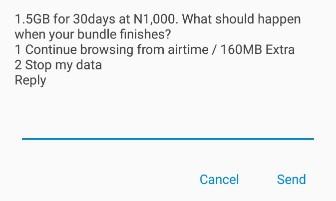 airtel 500 naira data plan codes