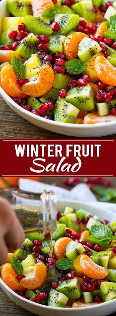 Winter Fruit Salad Recipe Simple