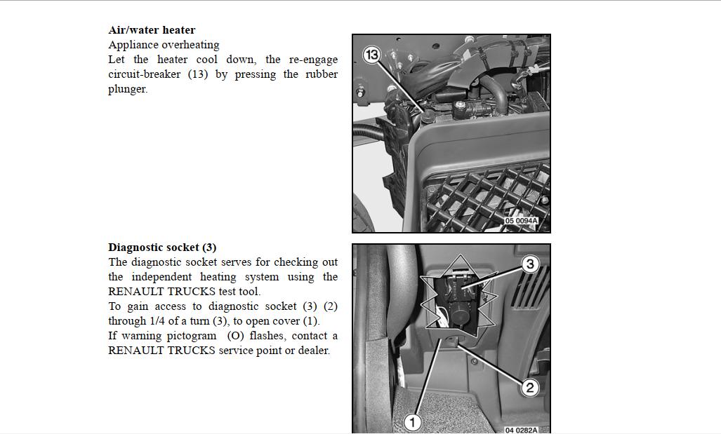 Renault Premium 330 Dxi 11 Service Manual