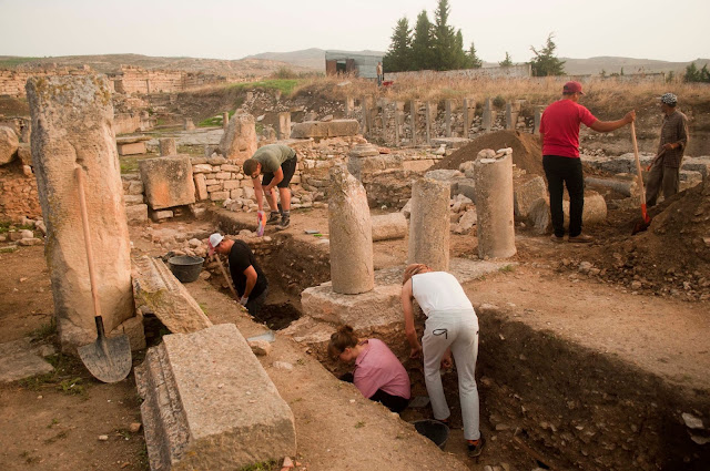 Over 130 Roman inscriptions uncovered at the ancient site of Mustis in northern Tunisia