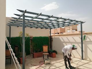 برجولات الرياض مظلات حدائق 2021-2030  رؤية عصرية