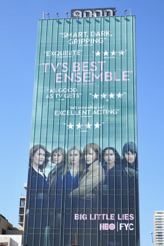 Giant Big Little Lies season 2 HBO FYC billboard