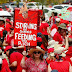 15,000 #RedforEd Teachers Skip Classes for Indiana Rally
