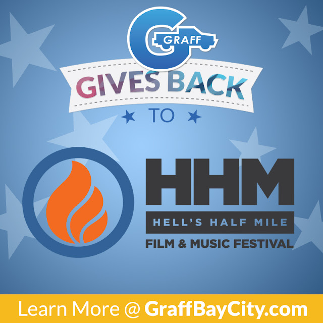 Graff Gives Back to the Hell's Half Mile Film and Music Festival