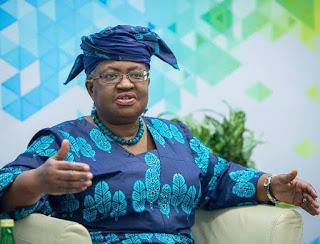 Mrs Ngozi Okonjo-Iweala