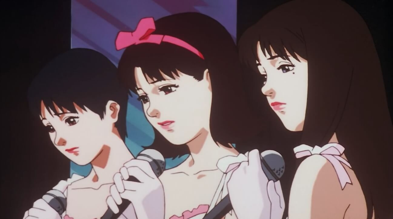 the idol group cham in perfect blue