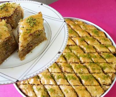 baklava, cevizli baklava, tatlı, yemek tarifleri, ev yemekleri, antep baklava