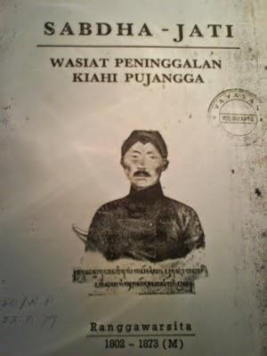 Serat Sabdo Jati (Karya R.Ng Ronggowarsito)